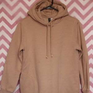 Divided Sweaters - Divided Blush Pink Long Comfy Sweatshirt Size 6